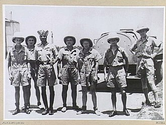 Sikhism in Australia - RAAF Personnel with a Sikh man during WWII