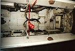 RAF Vulcan B2 Nose Gear Well Castle Air Museum (5052944785).jpg