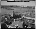 RECREATION HALL (built 1930s), LOOKING NORTH - Ellis Island, New York Harbor, New York, New York County, NY HABS NY,31-ELLIS,1-11.tif