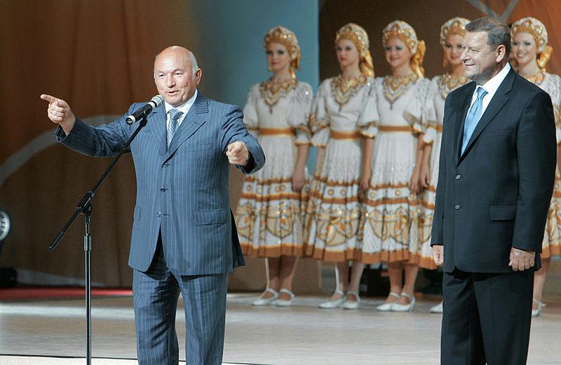 File:RIAN archive 157144 Yury Luzhkov, Sergei Sidorsky.jpg