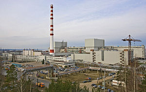 Leningrad Nuclear Power Plant - Site of the Nuclear Power Plant Leningrad, including the construction site of the Nuclear Power Plant Leningrad II.