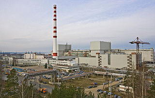Leningrad Nuclear Power Plant RBMK and VVER nuclear power plant in Sosnovy Bor, Leningrad Oblast, Russia
