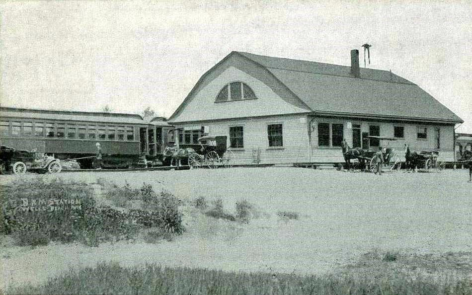 Railroad Station, Wells Beach, ME