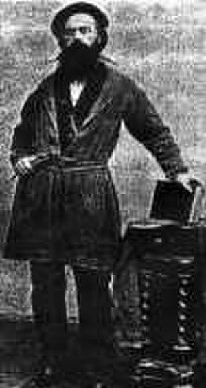 Randolph Rogers - Randolph Rogers in 1861.