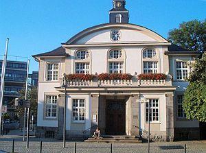 Hennef (Sieg) - Former town hall of Hennef