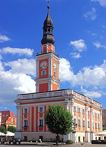 Leszno Place in Greater Poland, Poland