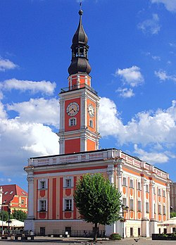 Town Hall in Leszno