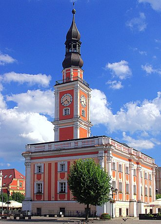 Leszno - Town Hall in Leszno