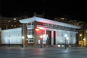 Reșița - City Hall in the City Centre