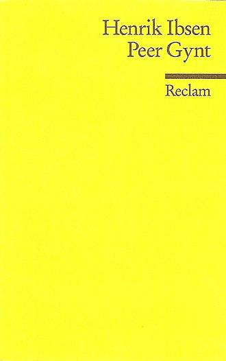 Reclam - Reclam Universal-Bibliothek edition of Henrik Ibsen's Peer Gynt