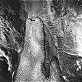 Reid Glacier, Tidewater glacier terminus and outwash, August 12, 1980 (GLACIERS 5804).jpg