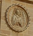 Relief on the Parish Church of the Nativity of Our Lady, Xagħra.jpg