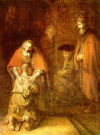 King Lear (1987 film) - Image: Rembrandt The return of the prodigal son