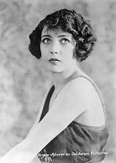 Renée Adorée French actress