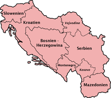 Jugoslawien Karte.Geschichte Jugoslawiens Wikipedia