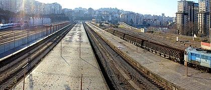 Retirada Vias de la antigua Estación de Vigo - panoramio