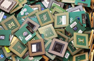 Microprocessor - Microprocessors can be recycled.