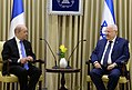 Reuven Rivlin at a meeting with Jean-Yves Le Drian, March 2018 (9793).jpg