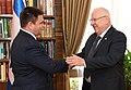 Reuven Rivlin meeting with the Pavlo Klimkin, November 2017 (2565).jpg