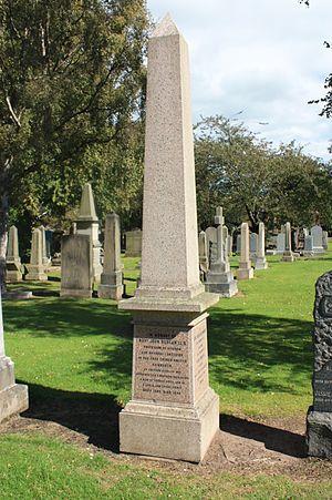 John Duncan (theologian) - Rev John Duncan's grave, Grange Cemetery