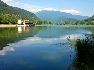 Revine Lago Comune in Veneto, Italy