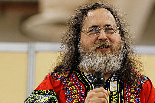 Richard Stallman - Fête de l'Humanité 2014 - 009