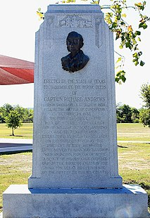 Richard Andrews (soldier) first rebel killed during the Texas Revolution
