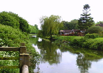 Brigg - The Old River Ancholme in Brigg