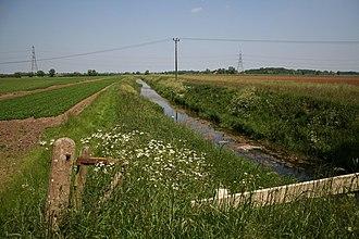 Ruskington - River Slea south of the village near the A153