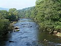 River from Llangynidr bridge - geograph.org.uk - 1491138.jpg