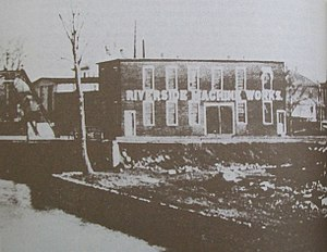 Edgar Apperson - Riverside Machine Works, Kokomo, Indiana, circa 1885
