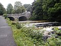 Riverside and bridge - geograph.org.uk - 762697.jpg