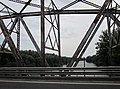 Road and railroad bridge over the Tisza river, Tiszaug, Hungary - panoramio (1).jpg