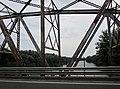 Road and railroad bridge over the Tisza river, Tiszaug, Hungary - panoramio (1).jpg
