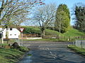 Road junction in West Ilsley - geograph.org.uk - 1723495.jpg