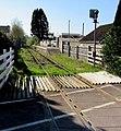 Roadside view of Llandybie railway station - geograph.org.uk - 4445231.jpg