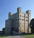 William de Corbeil oversaw construction of Rochester Castle's keep.