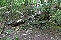 Rock outcrop in Brotherton Park 1.jpg