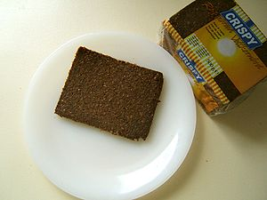 Rye bread -  Pumpernickel bread