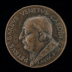 Pier Barbo, Cardinal of San Marco, afterwards Paul II 1455 [obverse]