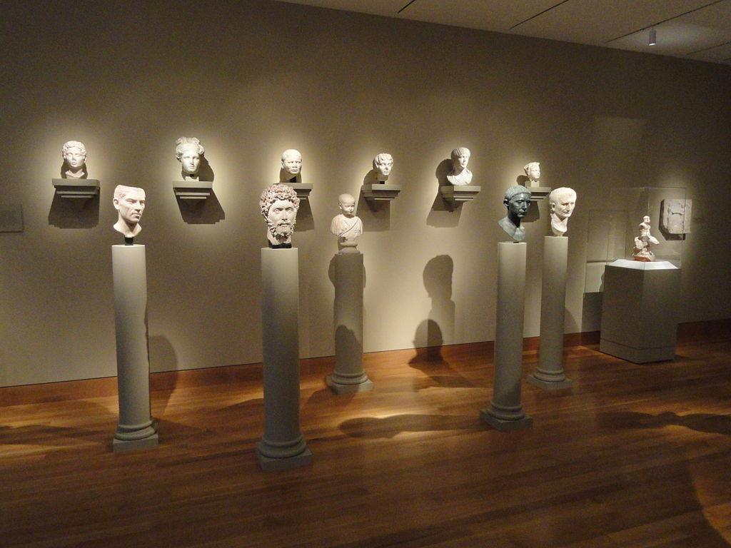 Roman busts - Cleveland Museum of Art - DSC08287