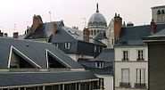 Rooftops of Tours, France