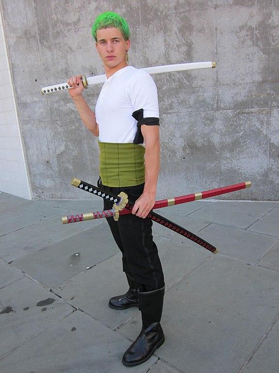 Roronoa Zoro Swords Cosplay File:Roronoa Zo...