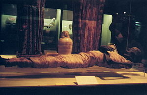 Authentic Egyptian mummy in Rosicrucian Egypti...