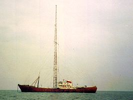 De MV Ross Revenge in 1984