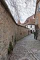 Rothenburg ob der Tauber, Stadtbefestigung, Trompetergäßchen, Stadtmauer-20151230-001.jpg