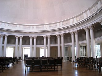 University of Virginia - Inside the Dome Room