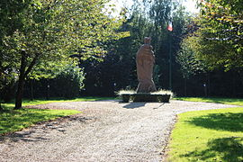 The memorial to the battle of Rougemare