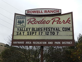 Castro Valley, California - Rowell Rodeo Park