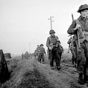 Royal Winnipeg Rifles - Royal Winnipeg Rifles, during Operation Spring, France, 25 July 1944.